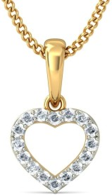 BlueStone The Eternal Love Gold Pendant