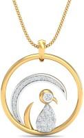 WearYourShine By PC Jewellers The Cashimine Urnish 14kt Diamond Yellow Gold Pendant