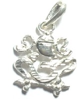 Ankit Collection Sterling Silver Pendant