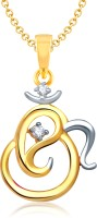 VK Jewels 18K Yellow Gold Plated Cubic Zirconia Alloy Pendant