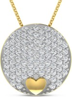Sparkles Yellow Gold Pendant