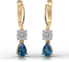 JewelFox 18kt Diamond Yellow Gold Pendant