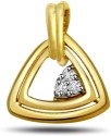 Surat Diamond Melody Of Love Yellow Gold 18K Yellow Gold Plated Pendant