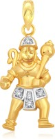 Classic Jai Shri Ram Gold And Rhodium Plated Pendant [CJ1025PG] Yellow Gold 18K Cubic Zirconia Alloy Pendant