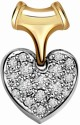 Surat Diamond Solitaire Yellow Gold 18K Yellow Gold Plated Pendant