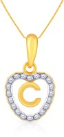 Malabar Gold And Diamonds PDEMALYA0029 22K Cubic Zirconia Yellow Gold Pendant