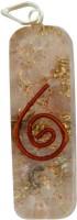 Aaradhi Divya Mantra Metaphysical Rose Quartz Reiki DVYM0001060 Agate Acrylic Pendant