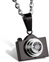 Vaishnavi Latest Camera Design Live Long Life Never Rusts Made Of 316L Surgical Stainless Steel Pendant