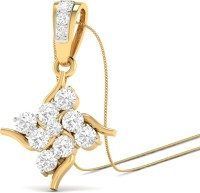 WearYourShine By PCJ The Maise 18K Diamond Gold Pendant