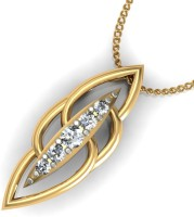 Arkina Diamonds Oval Magiccc 18kt Yellow Gold Pendant