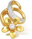 Ishtaa 18k BIS Hallmarked Yellow Gold Pendant - PELDV5K8UWPHFFXU