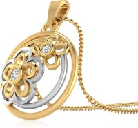 WearYourShine By PC Jewellers The Rushitha 14kt Diamond Yellow Gold Pendant