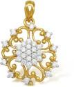 Ishtaa 18k BIS Hallmarked Yellow Gold Pendant - PELDV5K8YHPC7HG8