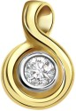 Surat Diamond Special Solitaire Yellow Gold 18K Yellow Gold Plated Pendant