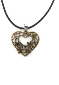 Modish Look Stylish Heart Stainless Steel Pendant