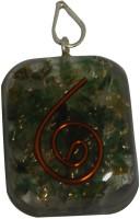 Aaradhi Divya Mantra Metaphysical Blood Stone Reiki Rounded DVYM0000947 Agate Acrylic Pendant