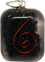 Aaradhi Divya Mantra Metaphysical Black Tourmaline Stone Reiki Rounded DVYM0000933 Agate Acrylic Pendant