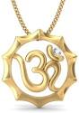 BlueStone The Aum Gold Pendant