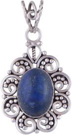 Silver Prince Designer Lapis Lazuli Silver Pendant