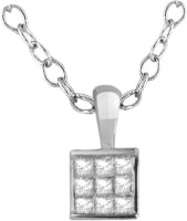 His & Her HHPXP8366_S 18kt Diamond Yellow Gold Pendant