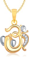 VK Jewels 18K Yellow Gold Plated Cubic Zirconia Alloy Pendant - PELEF7YEFHCRBQMT