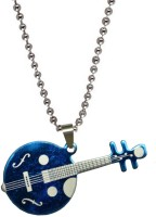 Men Style Hot Selling Music Notes Guitar  Stainless Steel Pendant Set