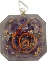 Aaradhi Divya Mantra Metaphysical Amethyst Reiki DVYM0001049 Agate Acrylic Pendant