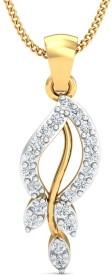 Stylori Messia Merci 18kt Diamond Yellow Gold Pendant