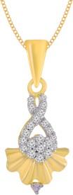 Jewelscart.in Drop Rhodium Alloy Pendant