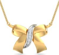 WearYourShine By PC Jewellers The Blubida Urnish 14kt Diamond Yellow Gold Pendant