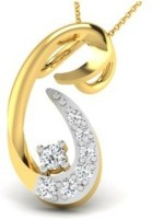 His & Her Love Forever 18kt Diamond Yellow Gold Pendant - PELECK5HXRZTFTNC