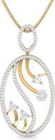 WearYourShine By PCJ The Jyotsnika 18K Diamond Gold Pendant