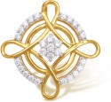 Ishtaa 18k BIS Hallmarked Yellow Gold Pendant - PELDV5K8FE4ZYUY4