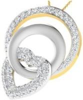 His & Her Love Forever 18kt Diamond Yellow Gold Pendant - PELECK5HZPK5GVQK
