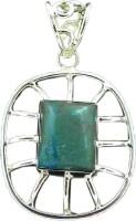 Miska Silver Blue Turquoise Silver Pendant