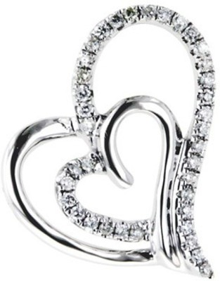 FacetzInspire Real Platinum Plated Diamond Silver Pendant available at Flipkart for Rs.8640