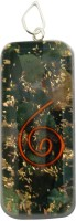 Aaradhi Divya Mantra Metaphysical Blood Stone Reiki DVYM0000989 Agate Acrylic Pendant