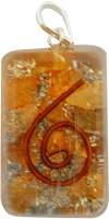Aaradhi Divya Mantra Metaphysical Orange Aventurine Reiki DVYM0001023 Agate Acrylic Pendant