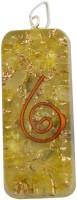Aaradhi Divya Mantra Metaphysical Yellow Aventurine Reiki DVYM0000973 Agate Acrylic Pendant