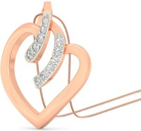WearYourShine By PCJ The Neleh Heart 18K Diamond Gold Pendant