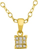 His & Her HHPXP8368_Y 18kt Diamond Yellow Gold Pendant