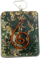 Aaradhi Divya Mantra Metaphysical Malachite Stone Reiki DVYM0000845 Agate Acrylic Pendant