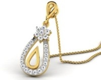 His & Her Love Forever 18kt Diamond Yellow Gold Pendant - PELECK5HTB9TBZTF