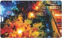 Printland Credit Card Nnight Walk PC80566 8 GB  Pen Drive (Multicolor)