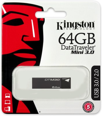 Kingston-DataTraveler-Mini-3.0-DTM30-64GB-Pen-Drive