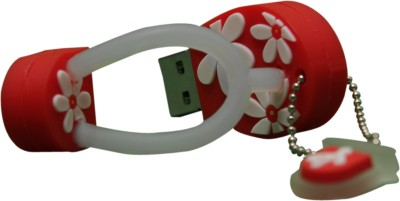 The Fappy Store Red Slipper Hot Plug And Play 4 GB  Pen Drive (Red)