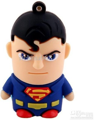 Seasonz International Superman 16 GB  Pen Drive (Multicolor)