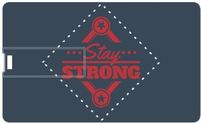 Design Worlds Stay Strong DWPC87346 8 GB Pen Drive (Multicolor)