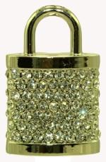 Zeztee Golden Lock Shape CR1029