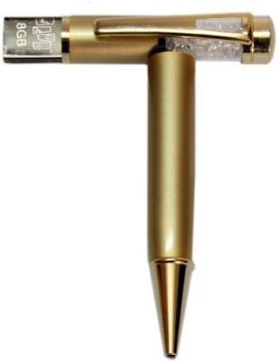 Gift Studio Gold Crsytal 8 GB  Pen Drive (Gold)